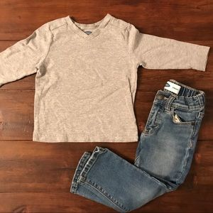 Old Navy | long sleeve v | great condition